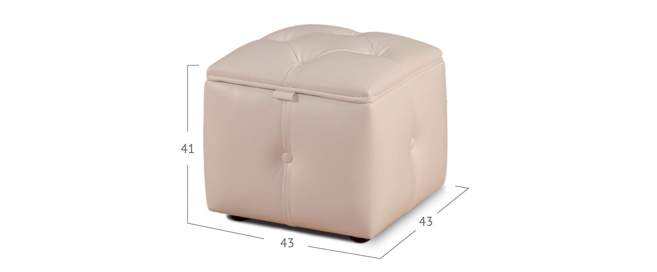 Пуф квадратный Кааба Модель 392